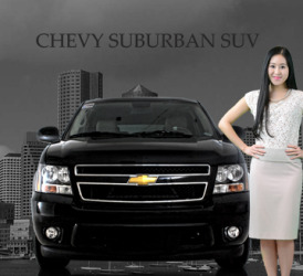 SUV CHEVY SUBURBAN